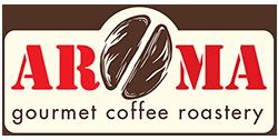 Aroma Gourmet Coffee Roastery Mobile Retina Logo