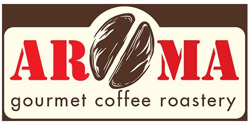 Aroma Gourmet Coffee Roastery Logo