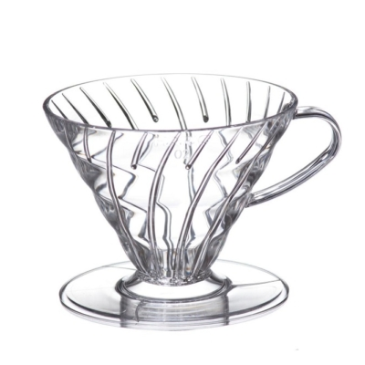 Hario Clear V60 Coffee Dripper 02