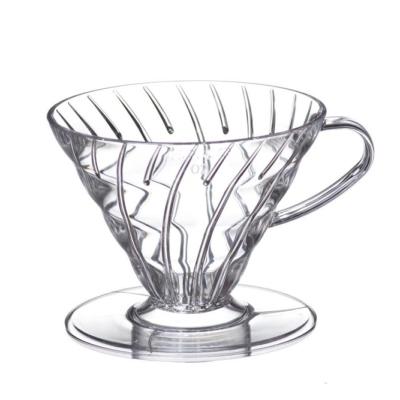 Hario Clear V60 Coffee Dripper 02